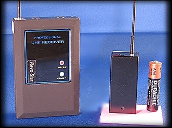 miniature audion transmitter, audio bug